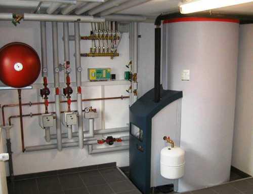 Забор воздуха, необходимый для горения газа, происходит из помещения, где установлен котел, а отвод продуктов сгорания происходит в дымовую трубу естественным способом