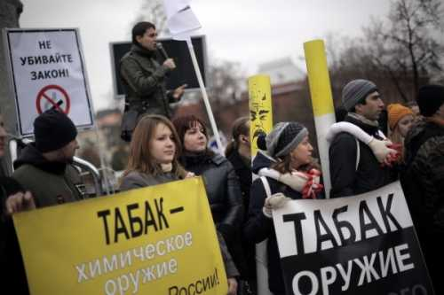 Россиянки поддерживают закон против курения