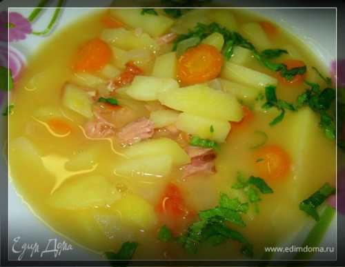 Гороховый суп в скороварке