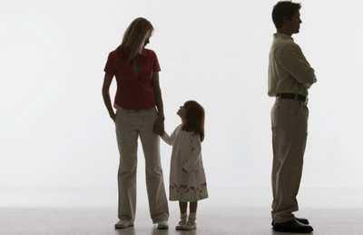 Развод и ребёнок: как рассказать ребёнку про