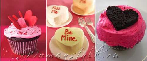 Рецепты на День Святого Валентина – СЕРДЕЧНЫЕ КЕКСЫ
