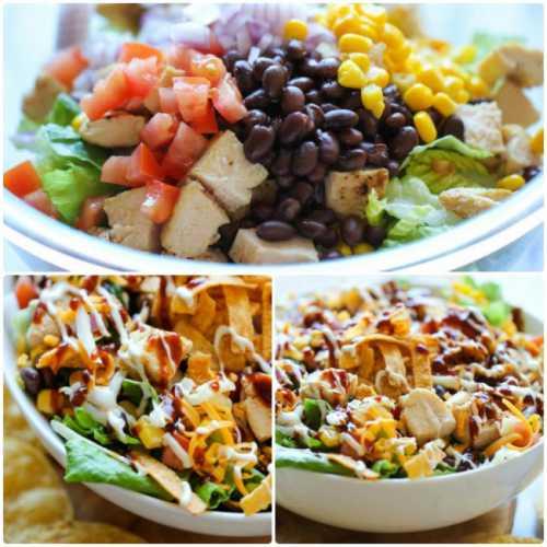 А можете, наоборот, собрать в одном салате картофель, фасоль или другие бобовые, дополнить овощи сухариками или грибами, подобрать сытную заправку майонез, сметану, соус