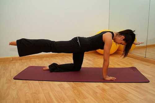 Действенное упражнение для формирования красивых ног
