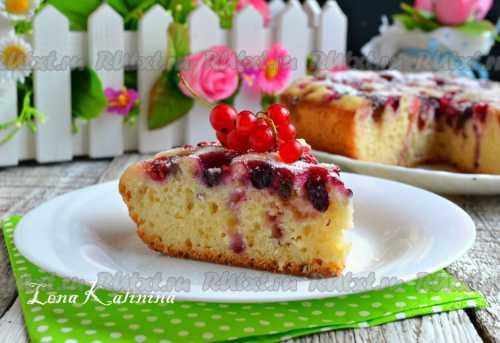 Рецепты пирога с ягодами в мультиварке, секреты