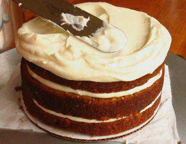 Простой крем для торта в домашних условиях