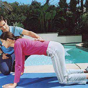Эффективное упражнение Вакуум в животе