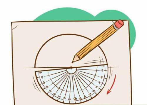 Сделайте еще одну отметку карандашом на краю круга