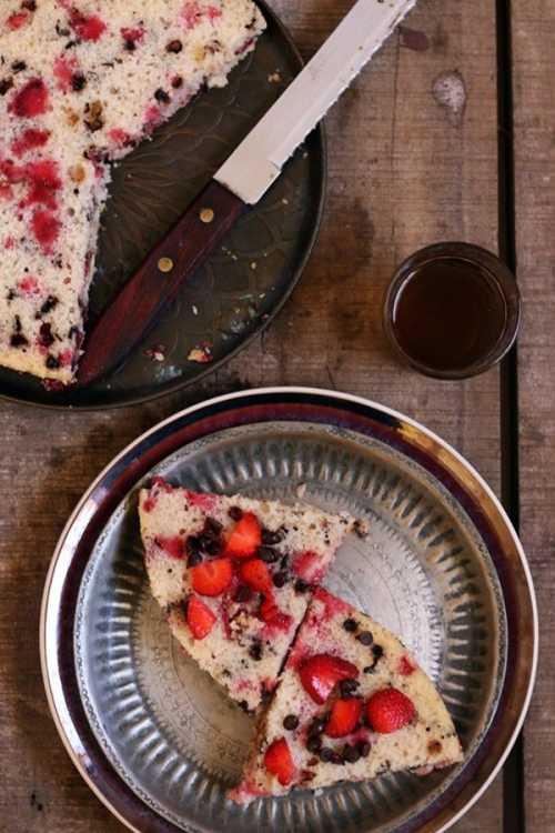 Рецепты десерта из клубники со сметаной, секреты