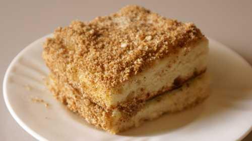 Бисквит с кремом