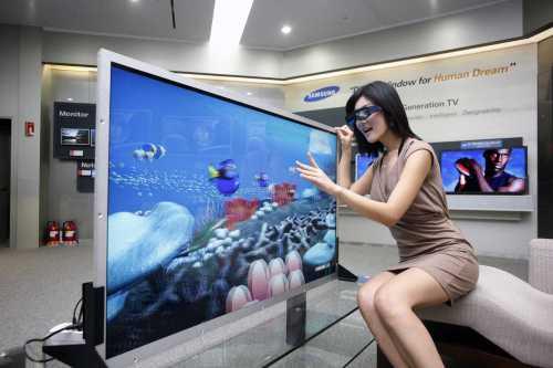 Некоторые производители комплектуют телевизоры, очками небольших размеров для детей