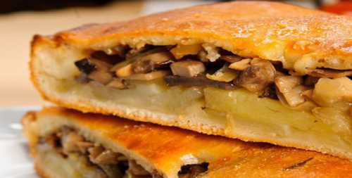 Рецепты пирога с картошкой и грибами, секреты