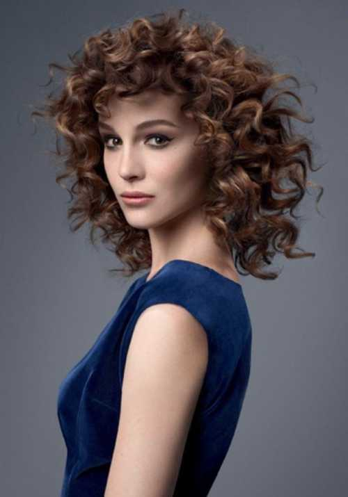 Биозавивка волос крупные локоны на короткие, средние, длинные волосы
