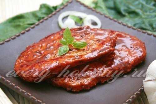 Если кусок мяса толстый, то наружная часть может стать кислой, пока маринад достигнет середины куска